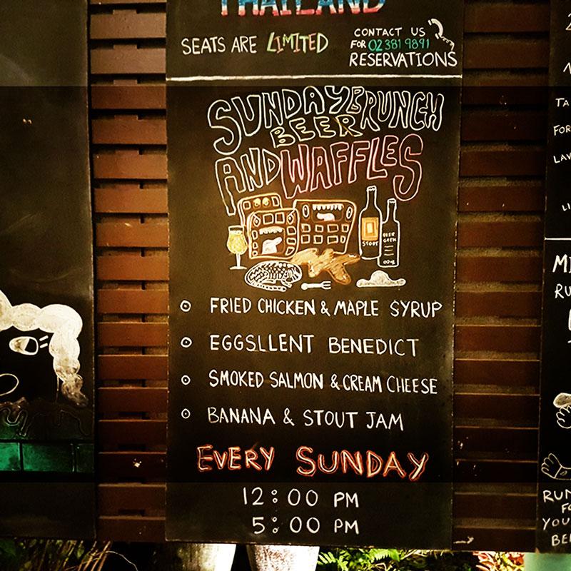 BEER BRUNCH! | Mikkeller | Ekkamai | Bangkok