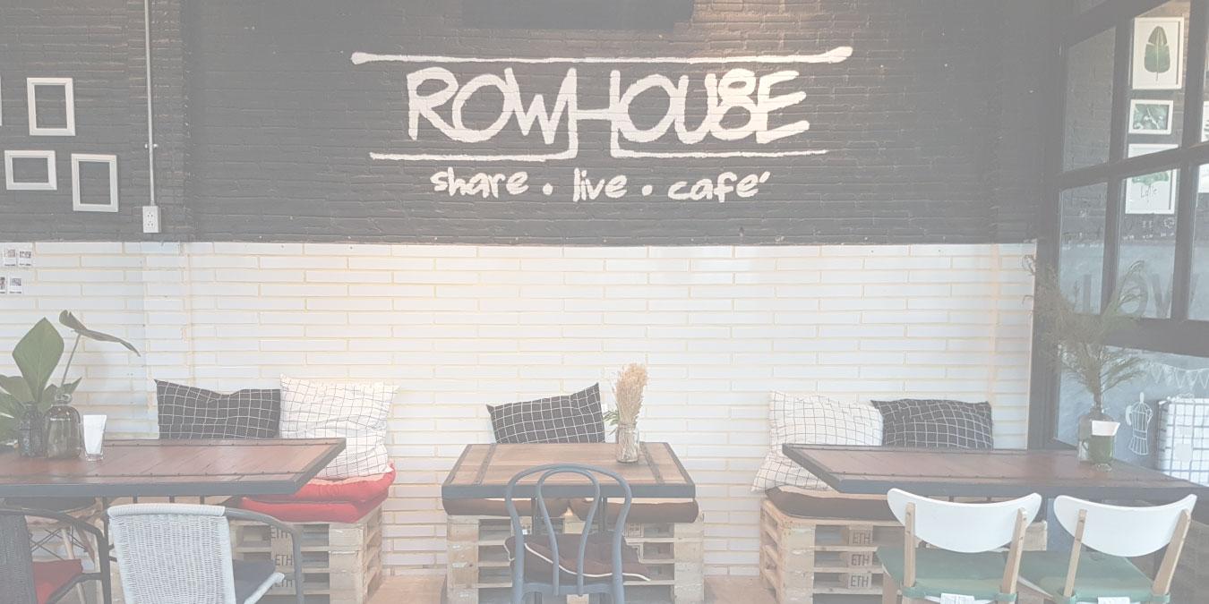 Rowhouse Cafe | Row Hou8e | Hua Hin | Thailand