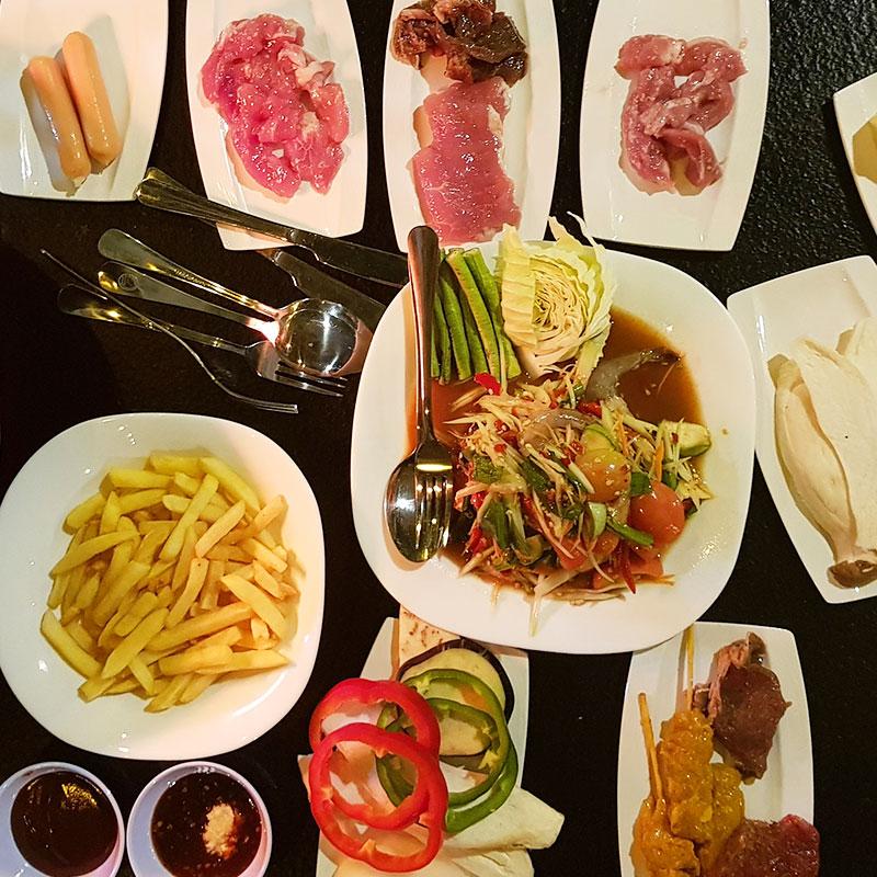 BBQ Buffet | Corner 112 | Hua Hin | Thailand