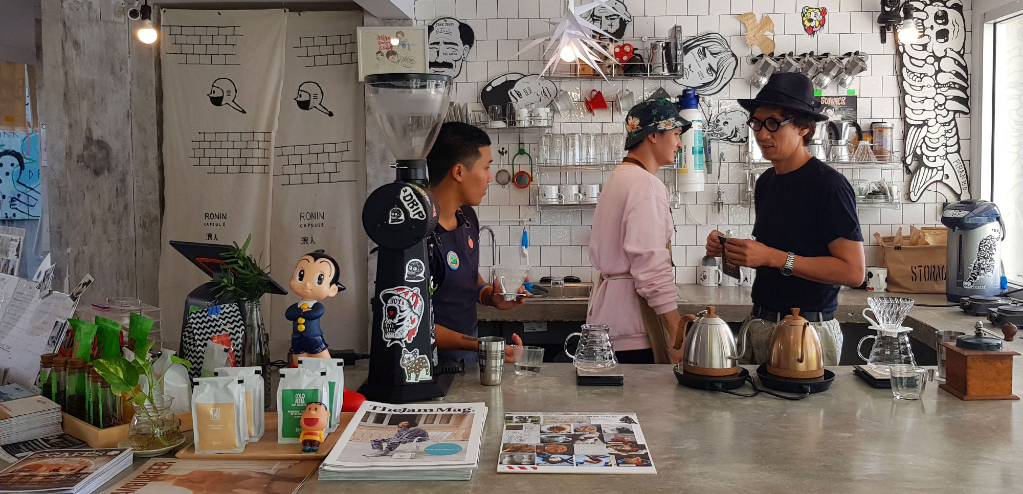 Ronin Capsule   A Cafe with Personality   Hua Hin   Thailand