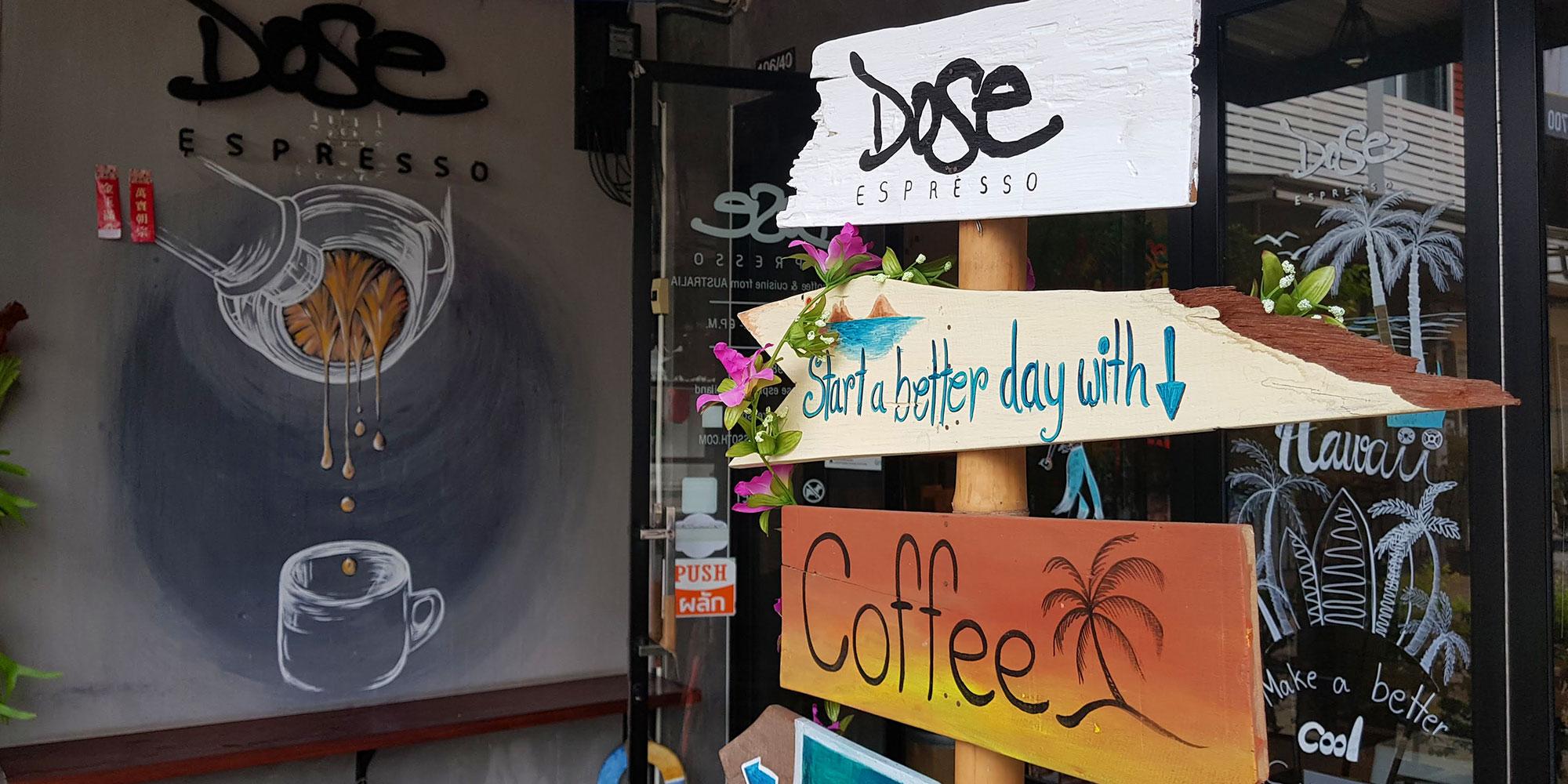 Dose Espresso | Udon Thani | Thailand